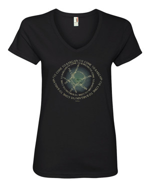 Doctor Strange Women's V-Neck Fitted T-Shirt I've Come to Bargain