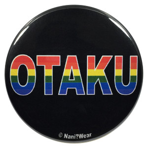 Gay Pride Otaku 2.25 Inch Button