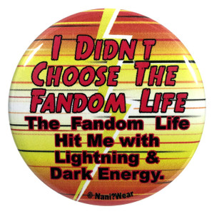 The Flash Button I Didn't Choose the Fandom Life