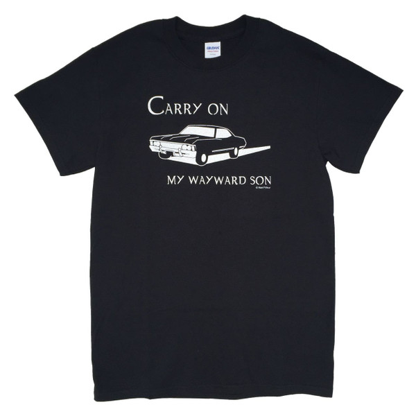 Supernatural Inspired T-Shirt: Carry on My Wayward Son