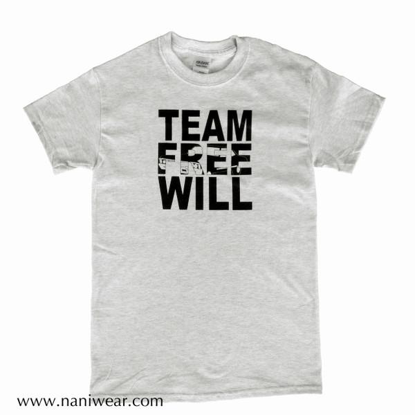 Supernatural Inspired T-Shirt: Team Free Will