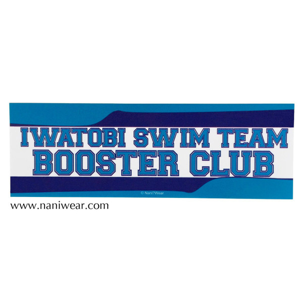 Free! Inspired Bumper Sticker: Iwatobi Swim Team