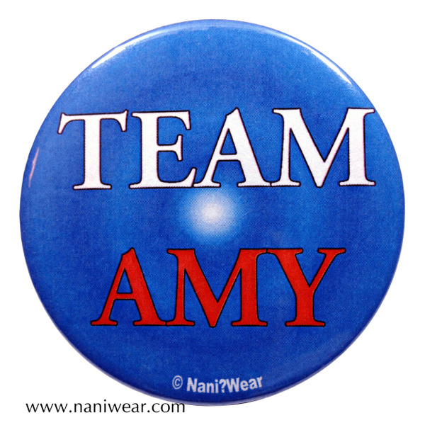 Amy Pond Inspired Button: Team Amy