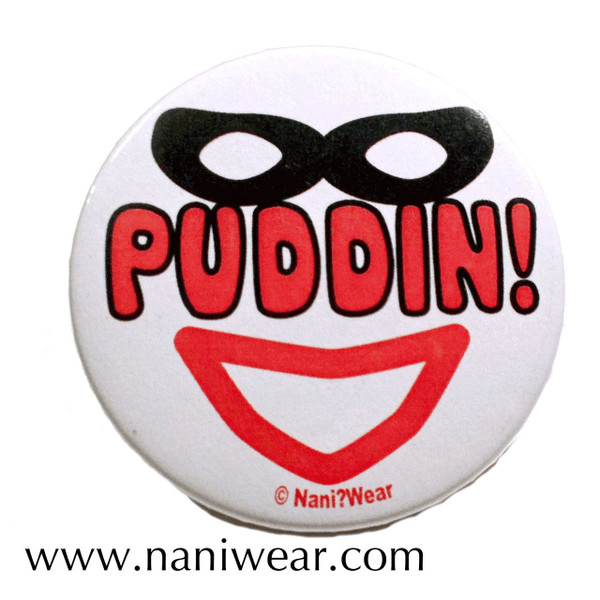 Batman Inspired Button: Puddin'