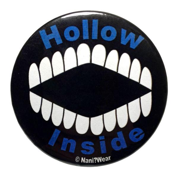 Bleach Inspired Button: Hollow Inside
