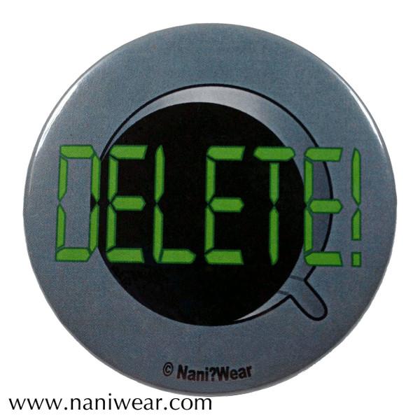 Cybermen Inspired Button: Delete