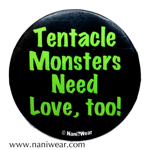 Hentai Button: Tentacle Monsters Need Love Too