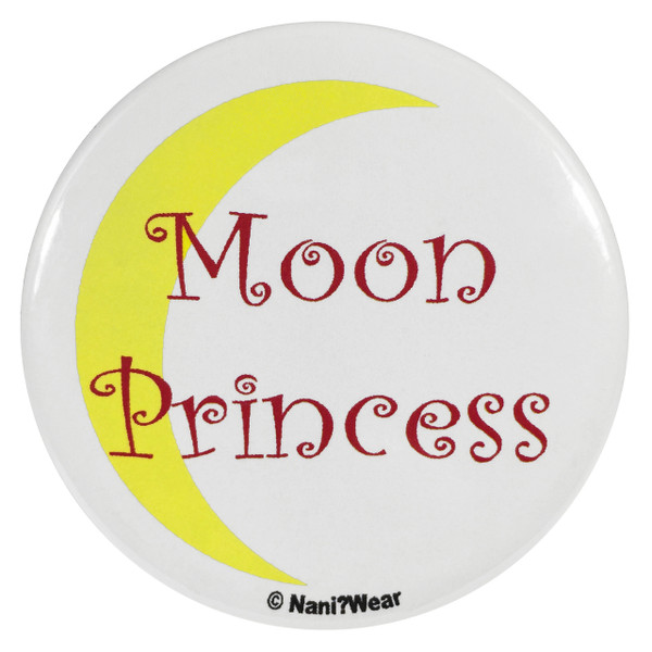 Sailor Moon Button Moon Princess