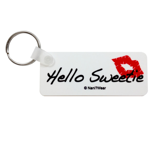 Doctor Who Inspired Long Keychain: Hello Sweetie