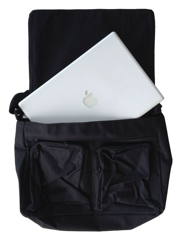 Hetalia Inspired Large Messenger/Laptop Bag: Make Pasta Not War