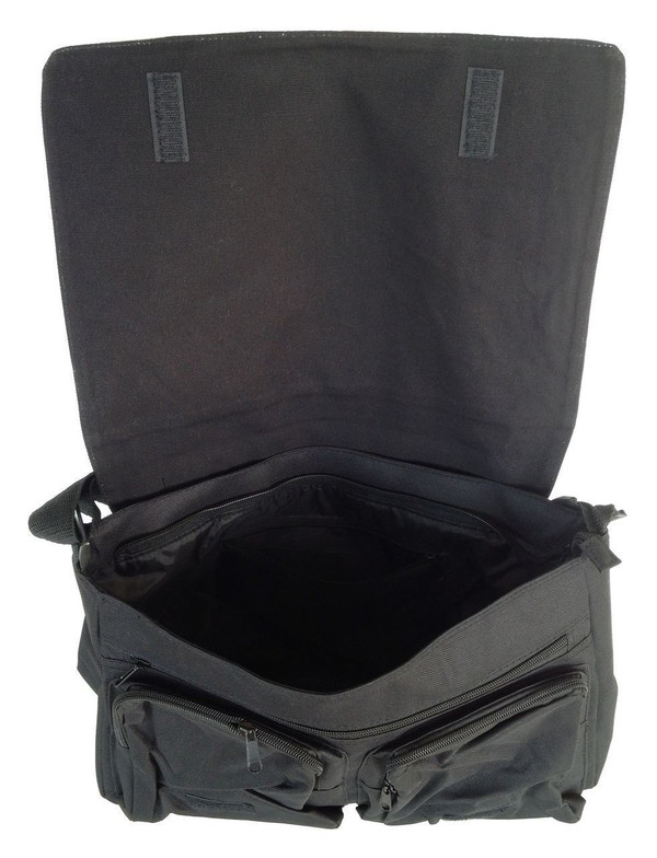 HitchHiker's Guide Inspired Large Messenger/Laptop Bag: Don't Panic