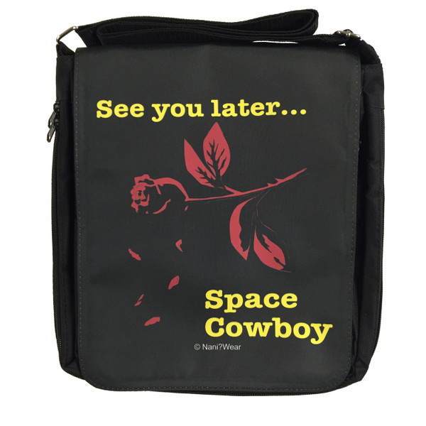 Cowboy Bebop Inspired Medium Messenger Bag: Space Cowboy