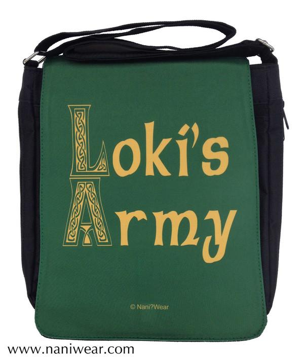 Loki Medium Messenger Bag: Loki's Army