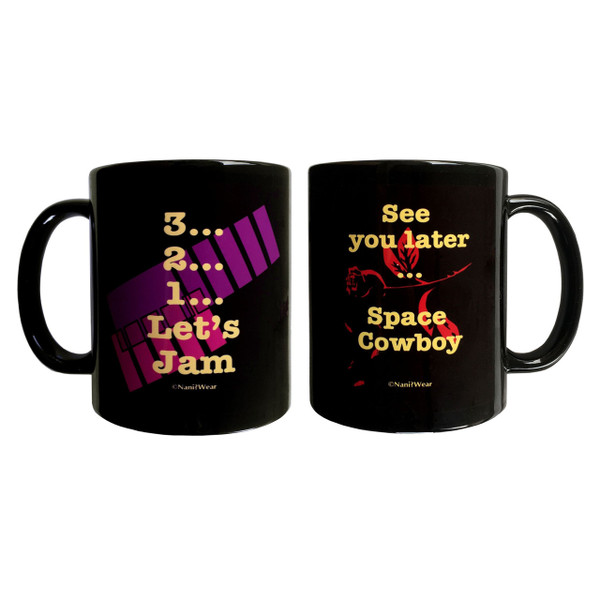 Cowboy Bebop Inspired Double-Sided Ceramic 11oz Coffee Mug