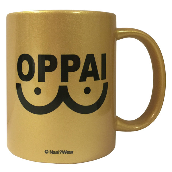 One Punch Man Inpsired Coffee Mug Oppai