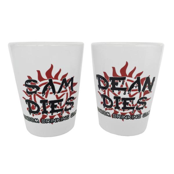Supernatural Drinking Game Shot Glasses