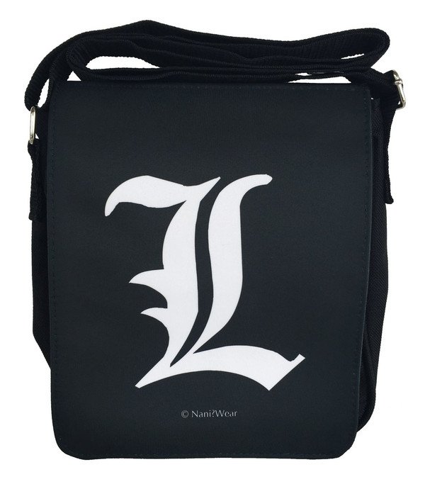 Death Note Inspired Small Messenger Bag: L