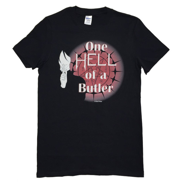 Black Butler Anime Inspired T-Shirt One Hell of a Butler