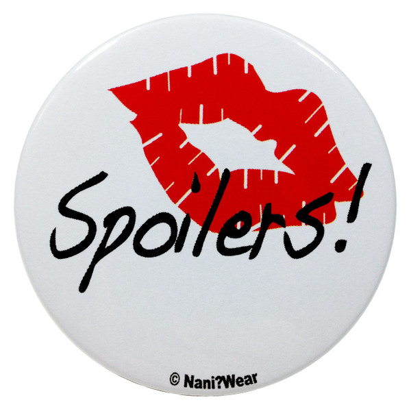 Doctor Who River Song 2.25 Inch Button Spoilers