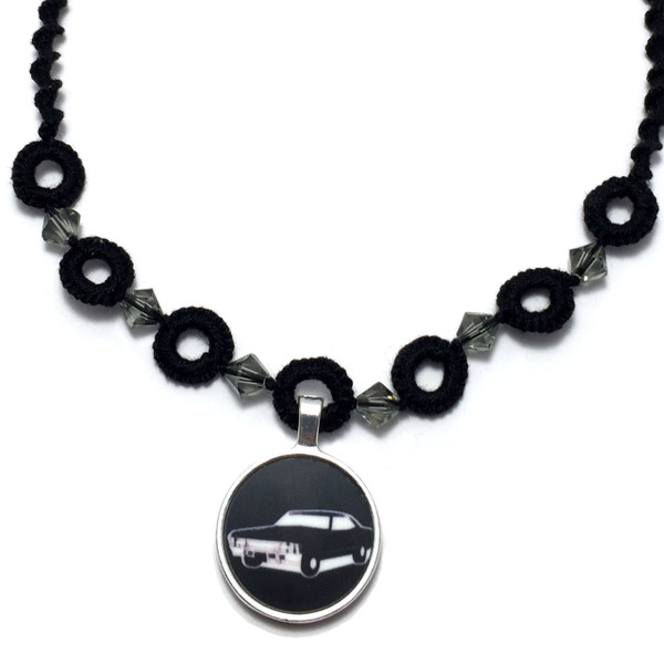 Supernatural 1967 Impala Baby Choker Necklace