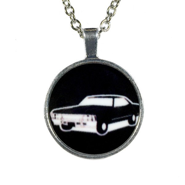 Supernatural Necklace with Pendant 1967 Impala Baby
