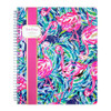 Lilly Pulitzer Large Notebook in Flamenco Beach