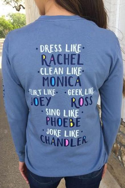 Jadelynn Brooke | Long-Sleeve Tee | Dress Like Rachel