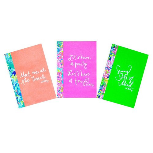 Lilly Pulitzer | Assorted Notebook Set