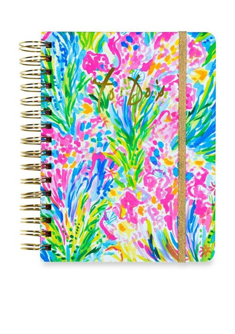 Monogrammed Lilly Pultizer To Do Planner | Fan Sea Pants