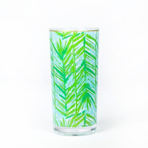 Lilly Pulitzer Acrylic Hi-Ball Glass Set | Costa Verde