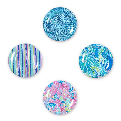 Lilly Pulitzer Appetizer Set in Wade and Sea