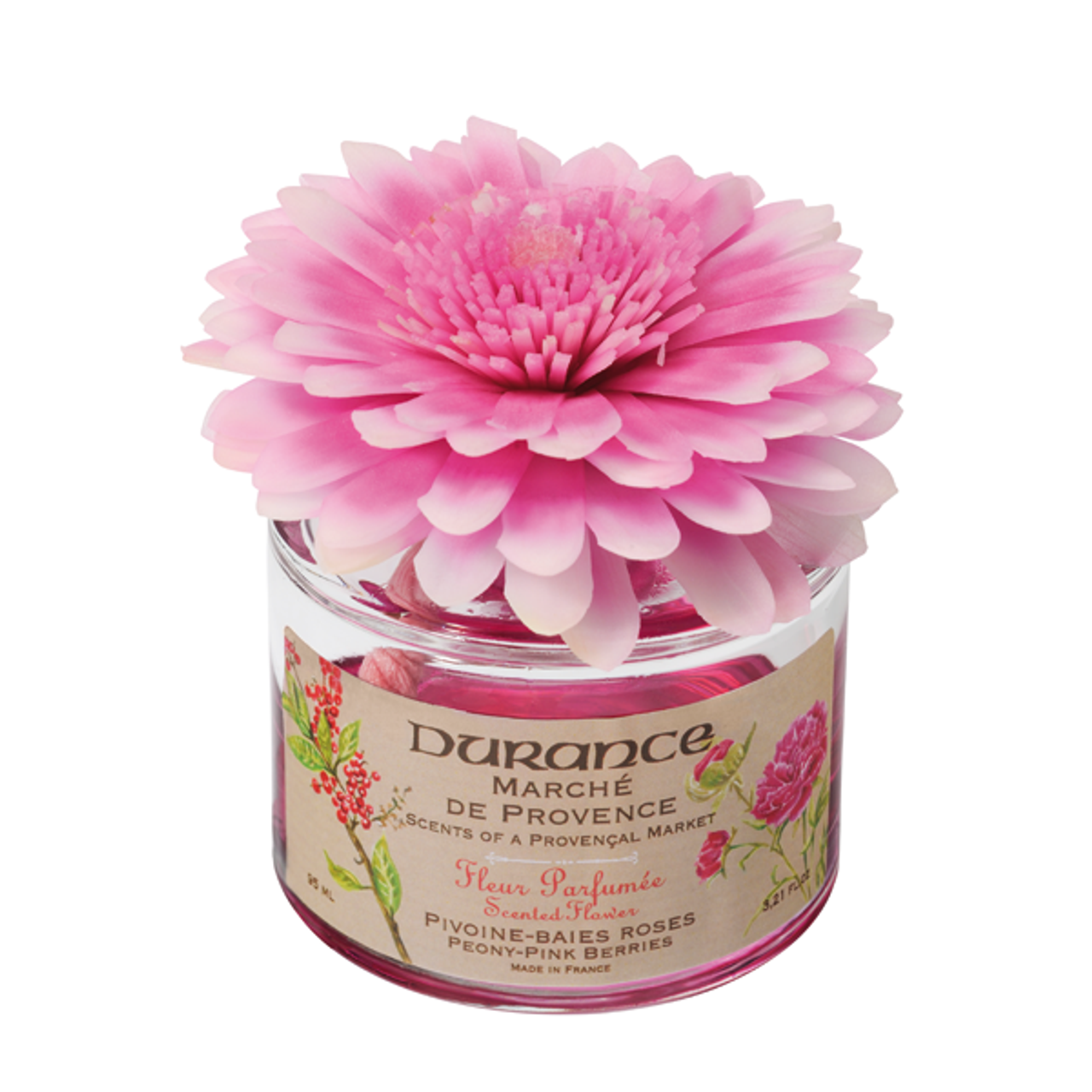 Durance peony pink berries scented flower 338 floz peony pink berries scented flower 338 floz mightylinksfo
