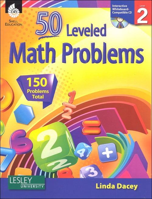 50 Leveled Math Problems, Level 2
