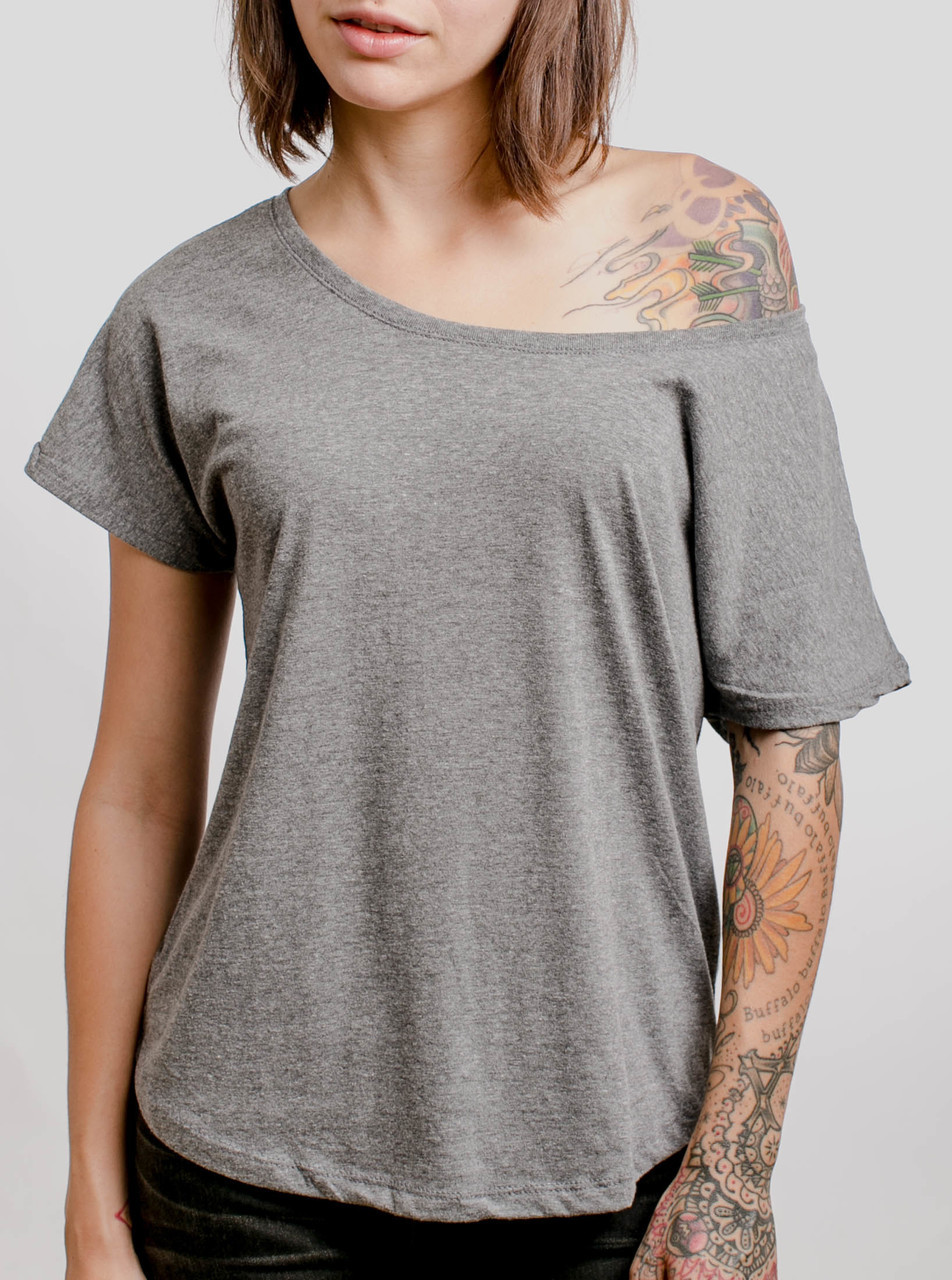 2f69085b0bbfe Grey triblend blank womens dolman curbside clothing jpg 952x1280 Blank tri  blend
