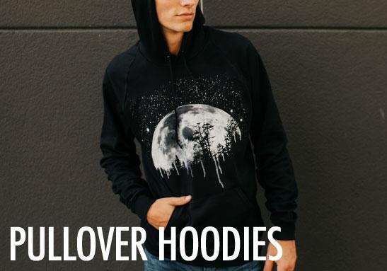 Mens Pullover Hoodies