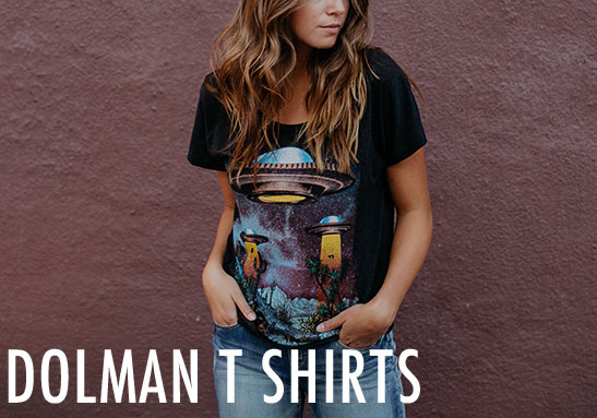 Womens Dolman T-shirts