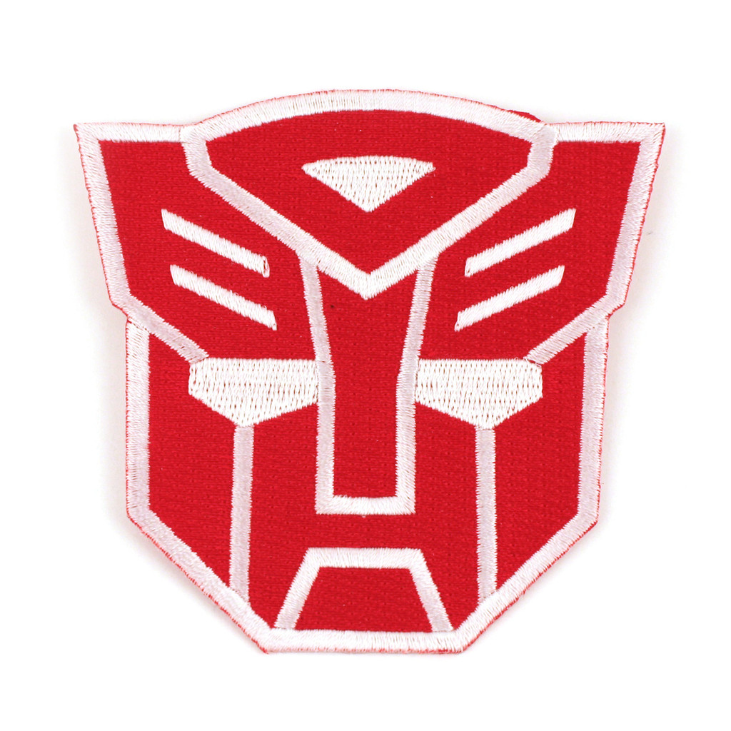 transformers patch autobots logo iron on patch iron on patch