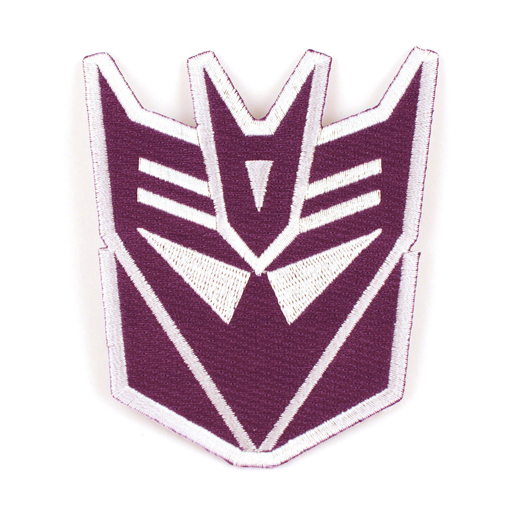 Transformers Patch Decepticons Logo Iron On Patch Iron On Patch