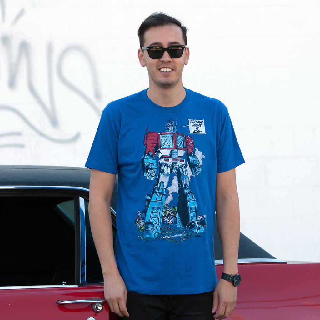 Transformers Optimus Prime Is Back T-Shirt