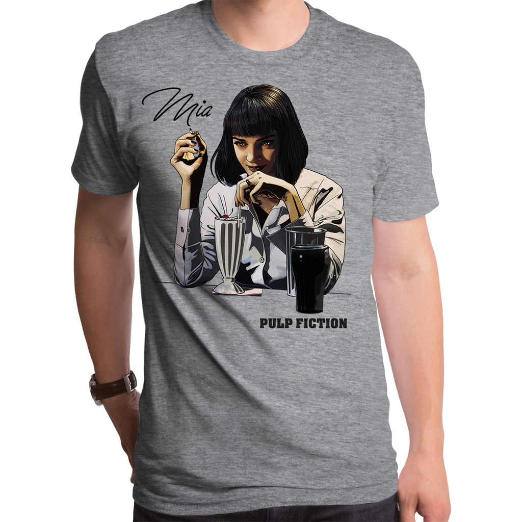 Pulp Fiction  Mia Milkshake Men's T-Shirt