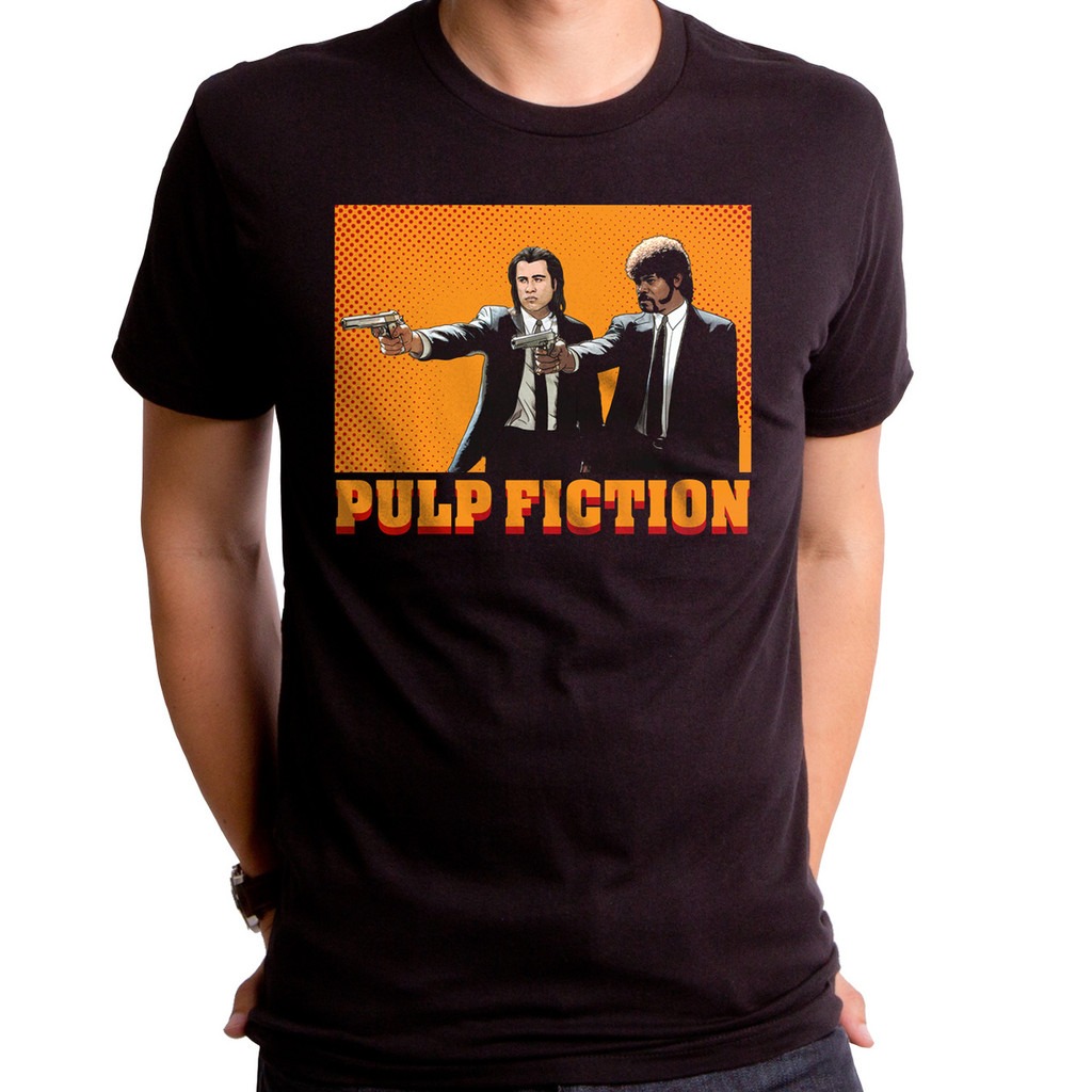 Comic Pulp Fiction T-Shirt