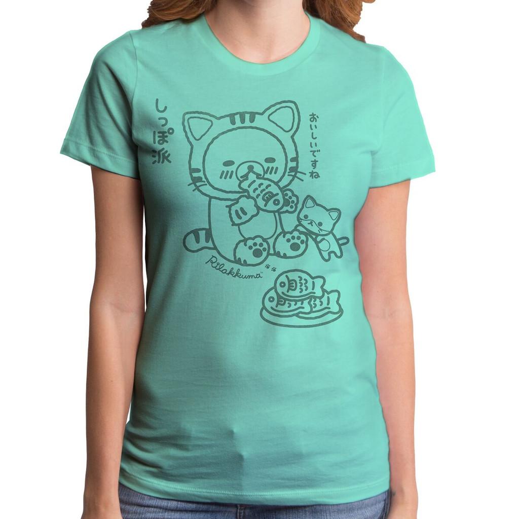 Rilakkuma Yummy Fish Girls T-Shirt