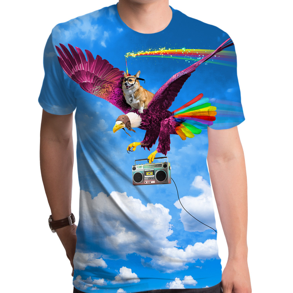 Epic Corgi Unicorn T-Shirt