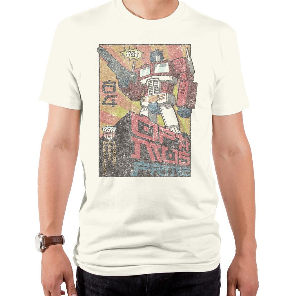 Transformers Asian Optimus T-Shirt
