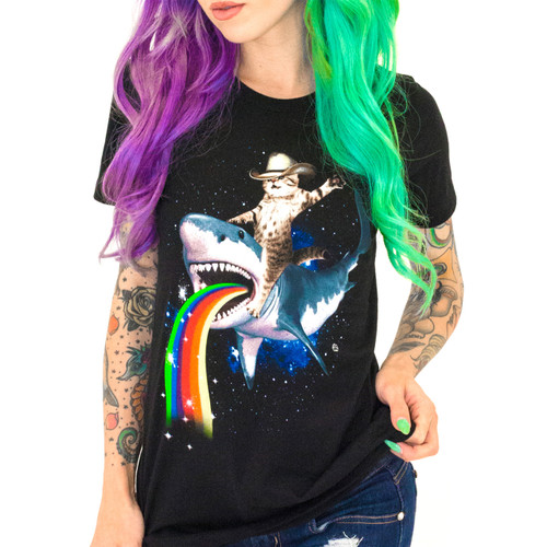 Bucking Sharkaroo Girls T-Shirt