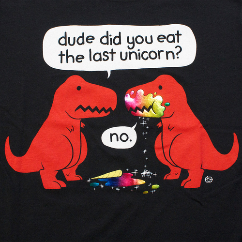The Last Unicorn Dino T-Shirt