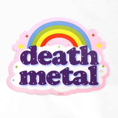 Death Metal Rainbow Sticker