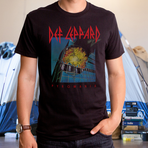 Def Leppard Pyromania Men's T-Shirt