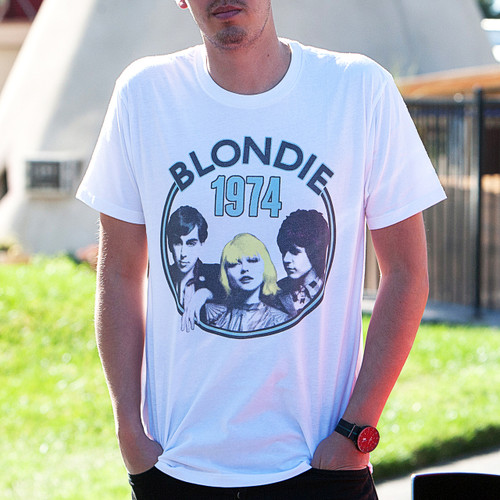 Blondie 1974 Tour T-Shirt