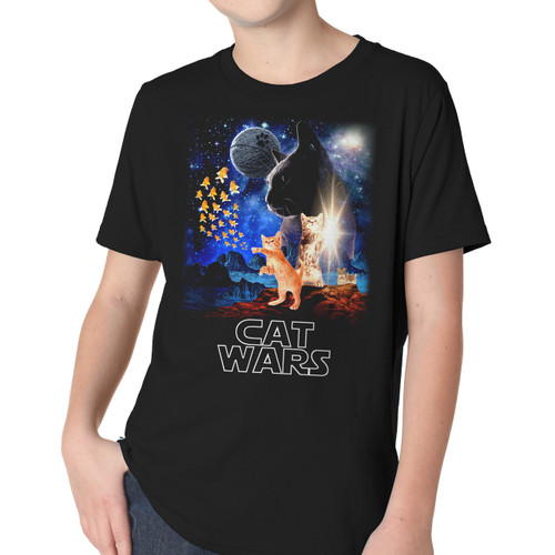 Cat Wars Youth T-Shirt
